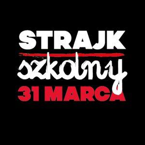 Popieramy strajk nauczycieli